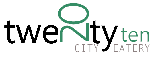 20 Ten City Eatery logo