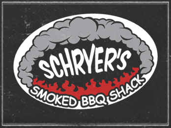 Schryers Smoked BBQ Shack logo