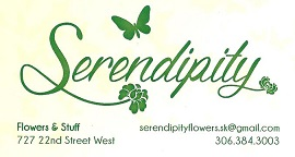 Serendipity Flowers and Stuff logo
