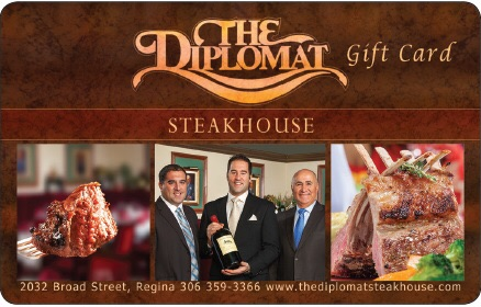 The Diplomat Steakhouse logo